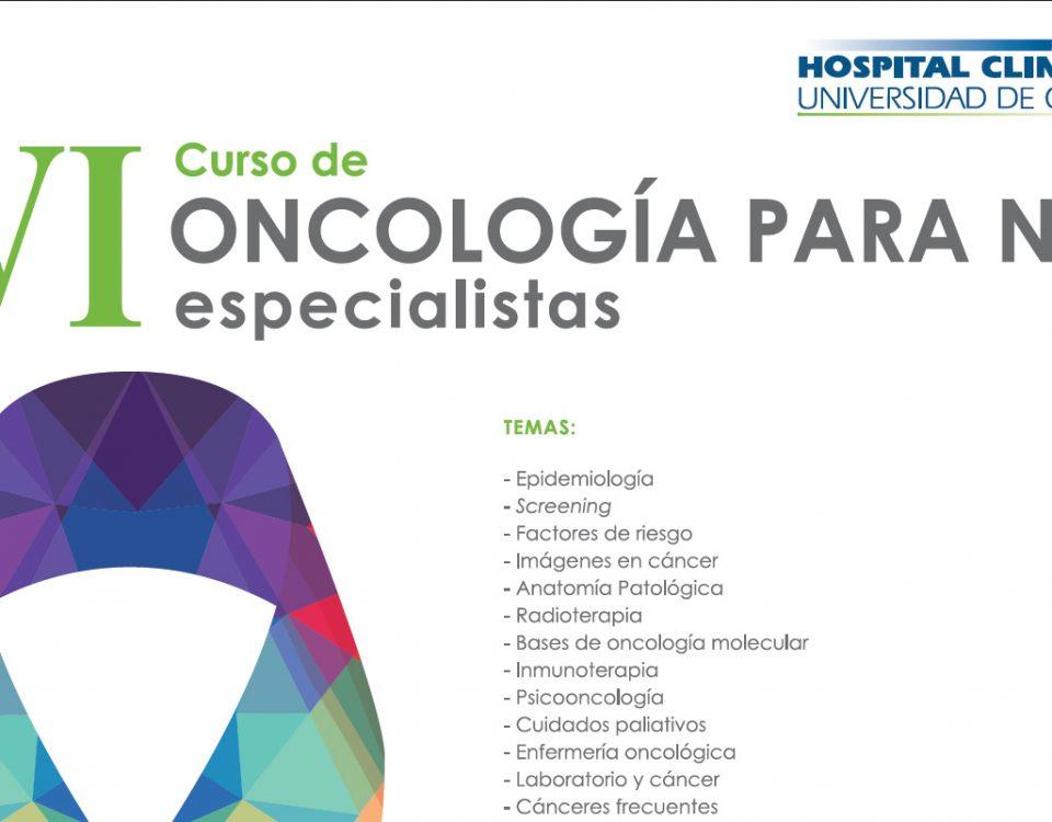 VI Curso de oncología para no especialistas
